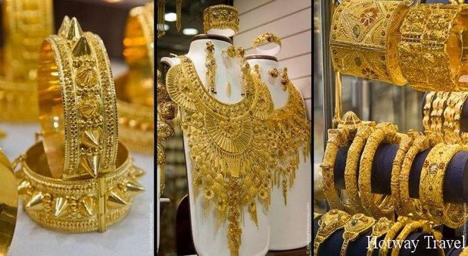 Эмирата летом золото