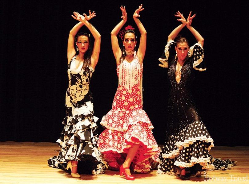 Отдых в Испании в июле танцы