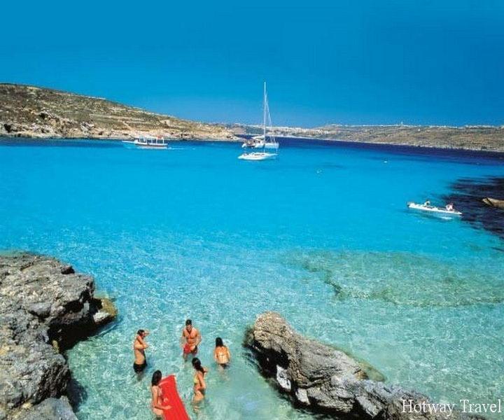 Отдых на Мальте в авгусет море
