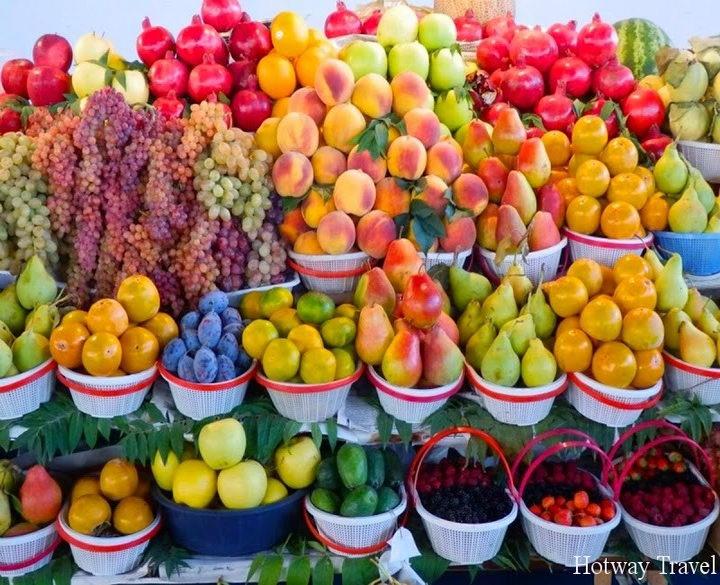 Отдых в Болгарии в сентябре фрукты