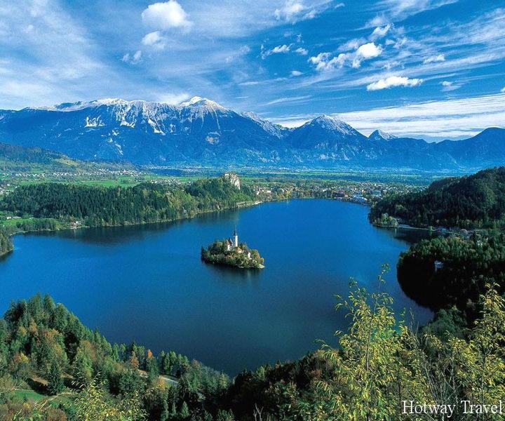Отдых в Чехии в августе озеро
