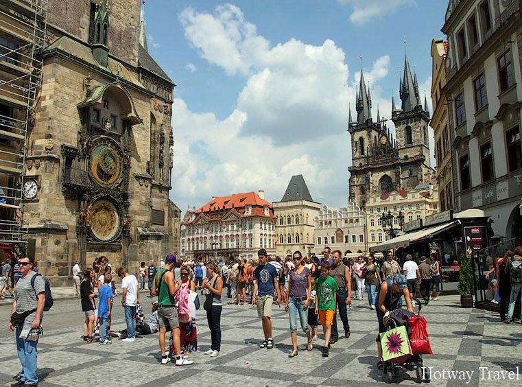 Отдых в Чехии в августе прага1