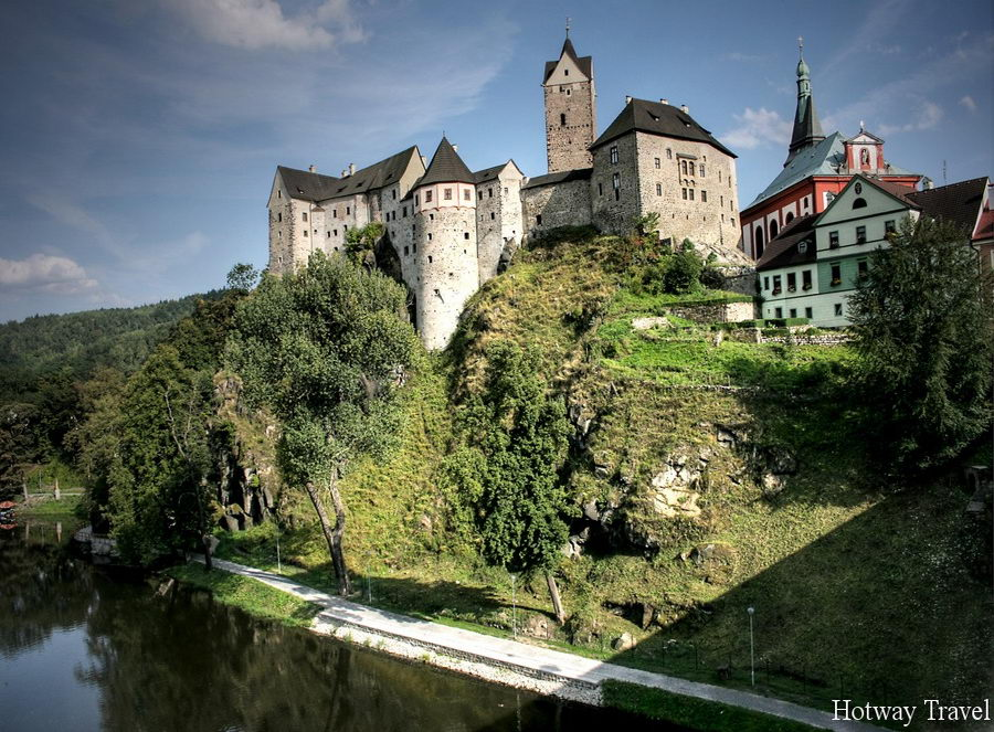 Отдых в Чехии в августе замок