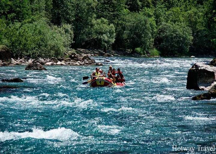 Отдых в Черногории а вагусте рафтинг