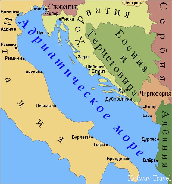 Отдых в Черногории в августе карата