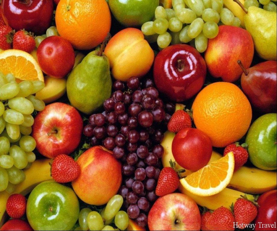 Отдых в Черногории в сентябре фрукты1
