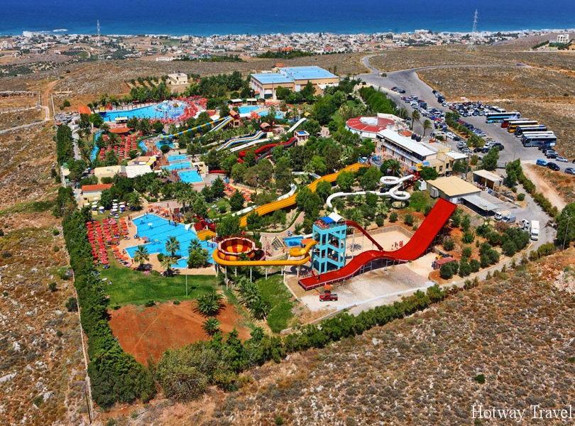 Отдых в Греции в августе аквапарк