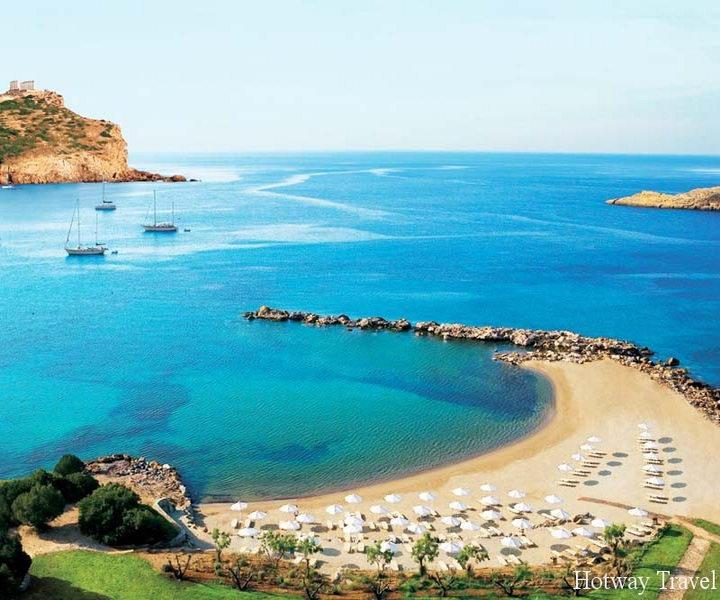 Отдых в Греции в августе море