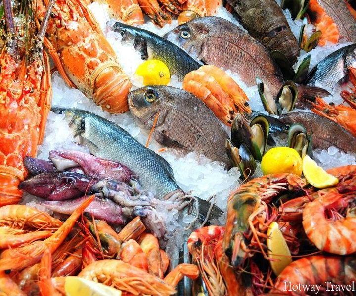 Отдых в Греции в августе рыба
