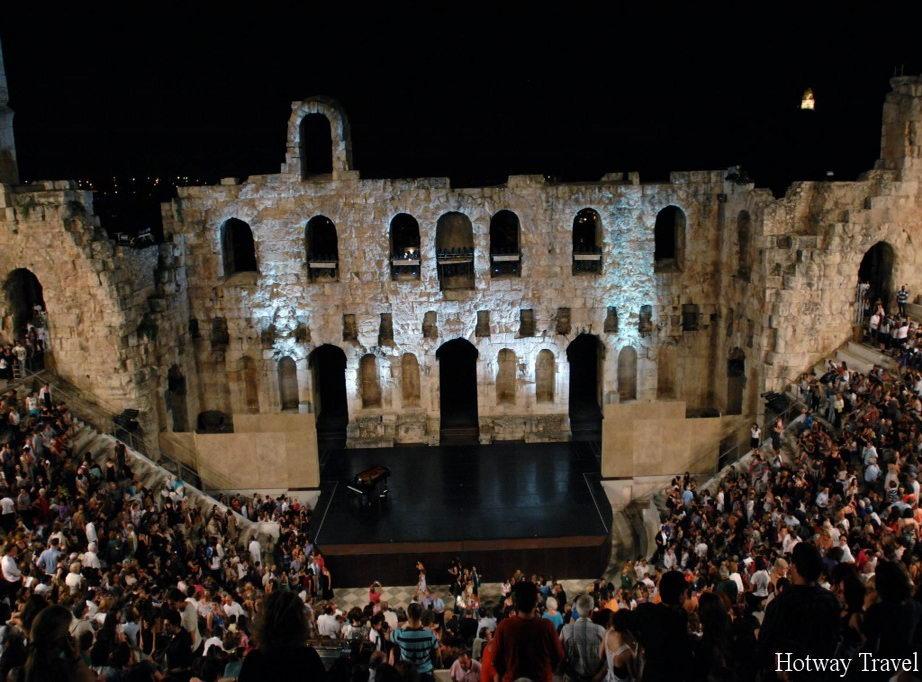 Отдых в Греции в сентябре фестиваль