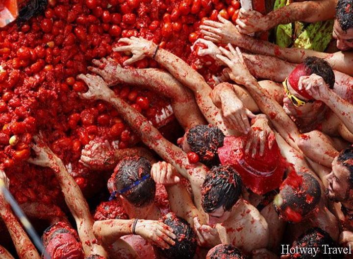 Отдых в Испании в августе томат