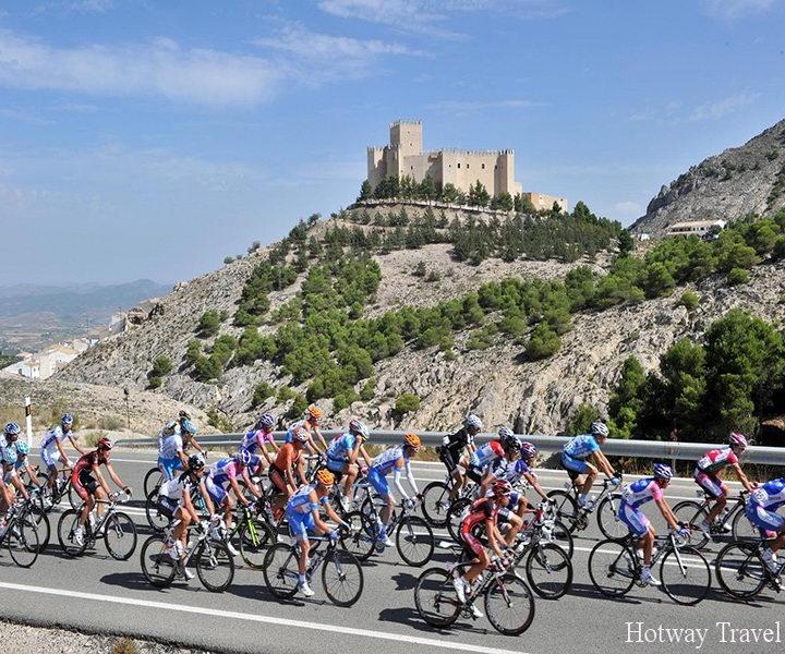 Отдых в Испании в августе велогонка