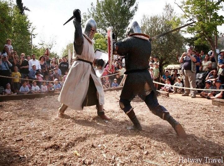 Отдых в Израиле в сентябре рыцарь