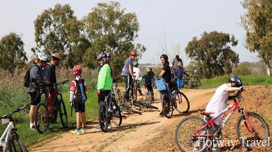Отдых в Израиле в сентябре велосипед