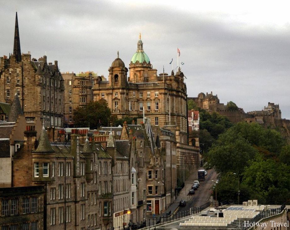 Отдых в Шотландии в августе Эдинбург