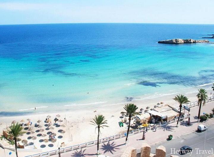 Отдых в Тунисе в августе море