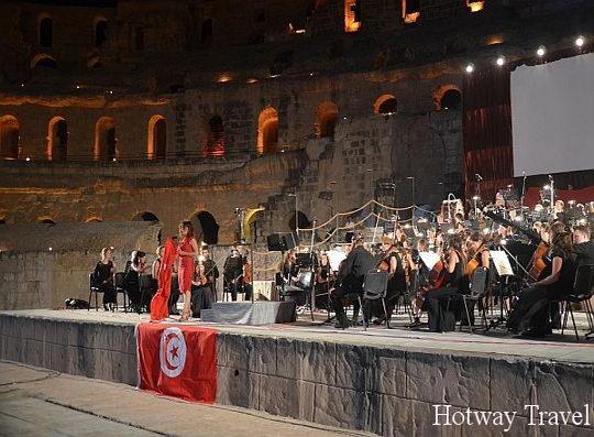 Отдых в Тунисе в августе опера