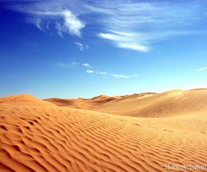 Отдых в Тунисе в августе пустыня