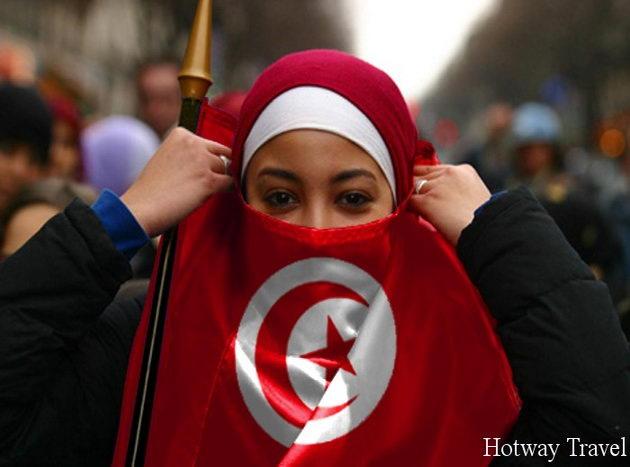 Отдых в Тунисе в августе женщина