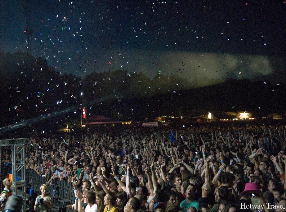 Отдых в Венгрии в августе фестиваль музыка