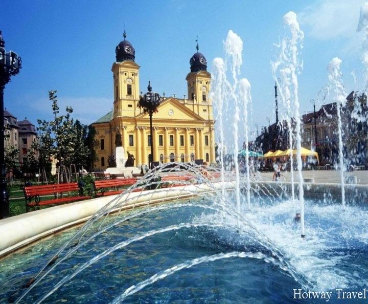 Отдых в Венгрии в августе фонтан