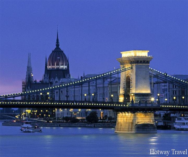 Отдых в Венгрии в августе вечер