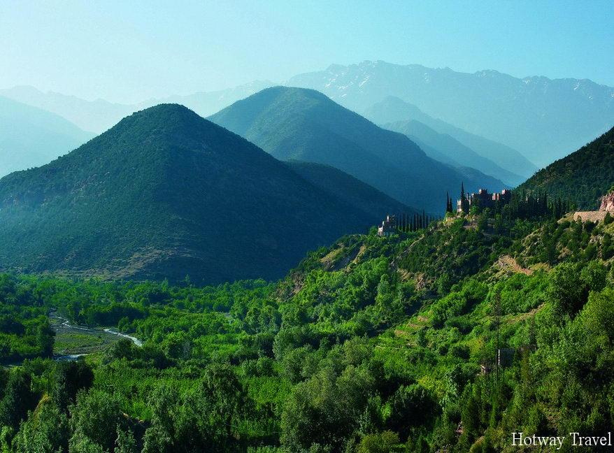 Отых в Марокко горы