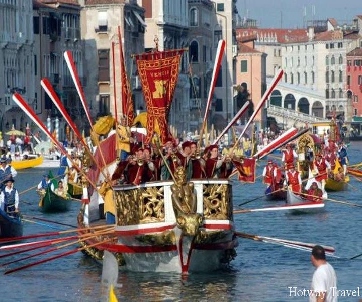 Отдых в Италии в сентябре регата