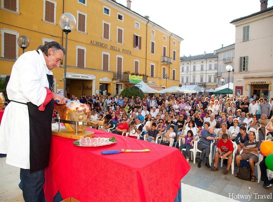 Отдых в Италии в сентябре ветчина