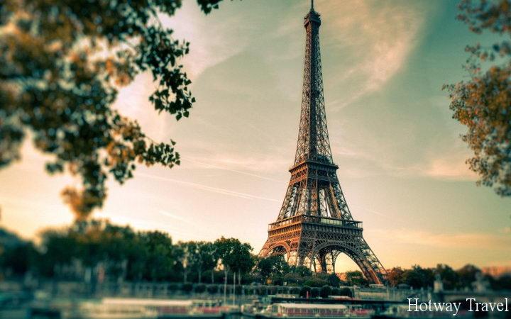 Отдых в сентябре 2015 во Франции башня