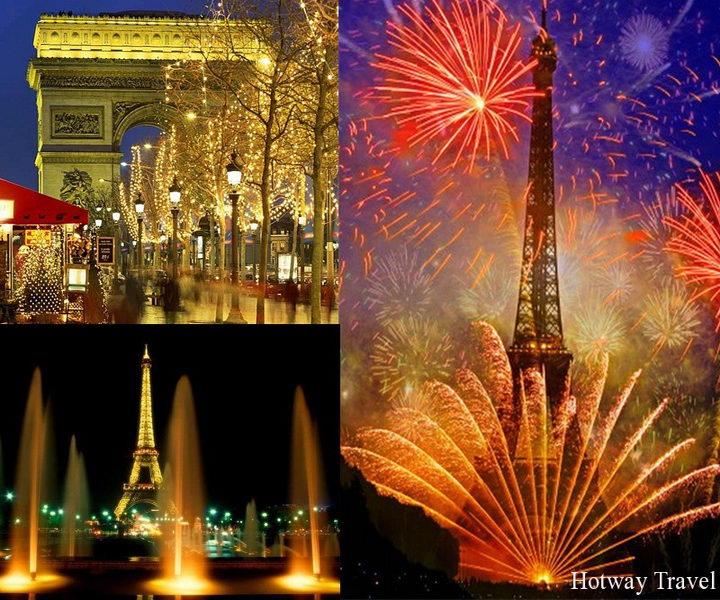 Новый год 2016 в Париже