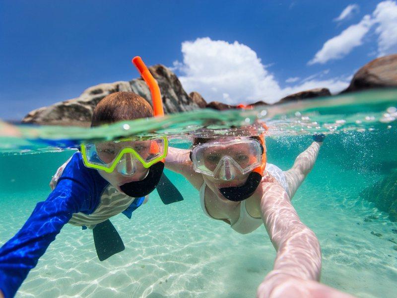 детский отдых в Египте море фото