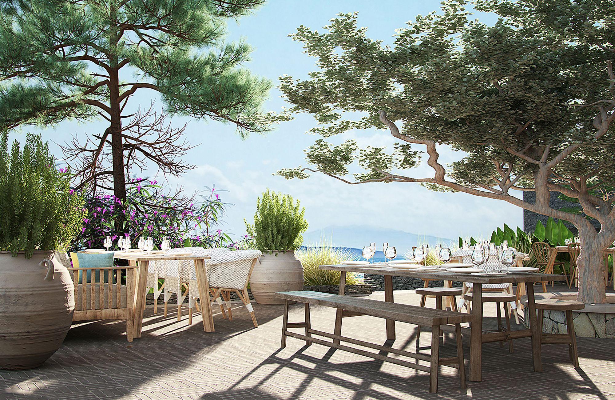 The Bodrum EDITION новый отель 2018 в Турции фото