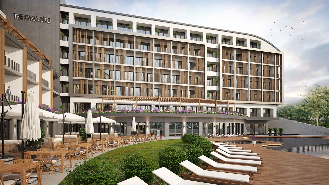 Фото нового отеля в Сиде The Raga Side 5* , Турция, главный корпус