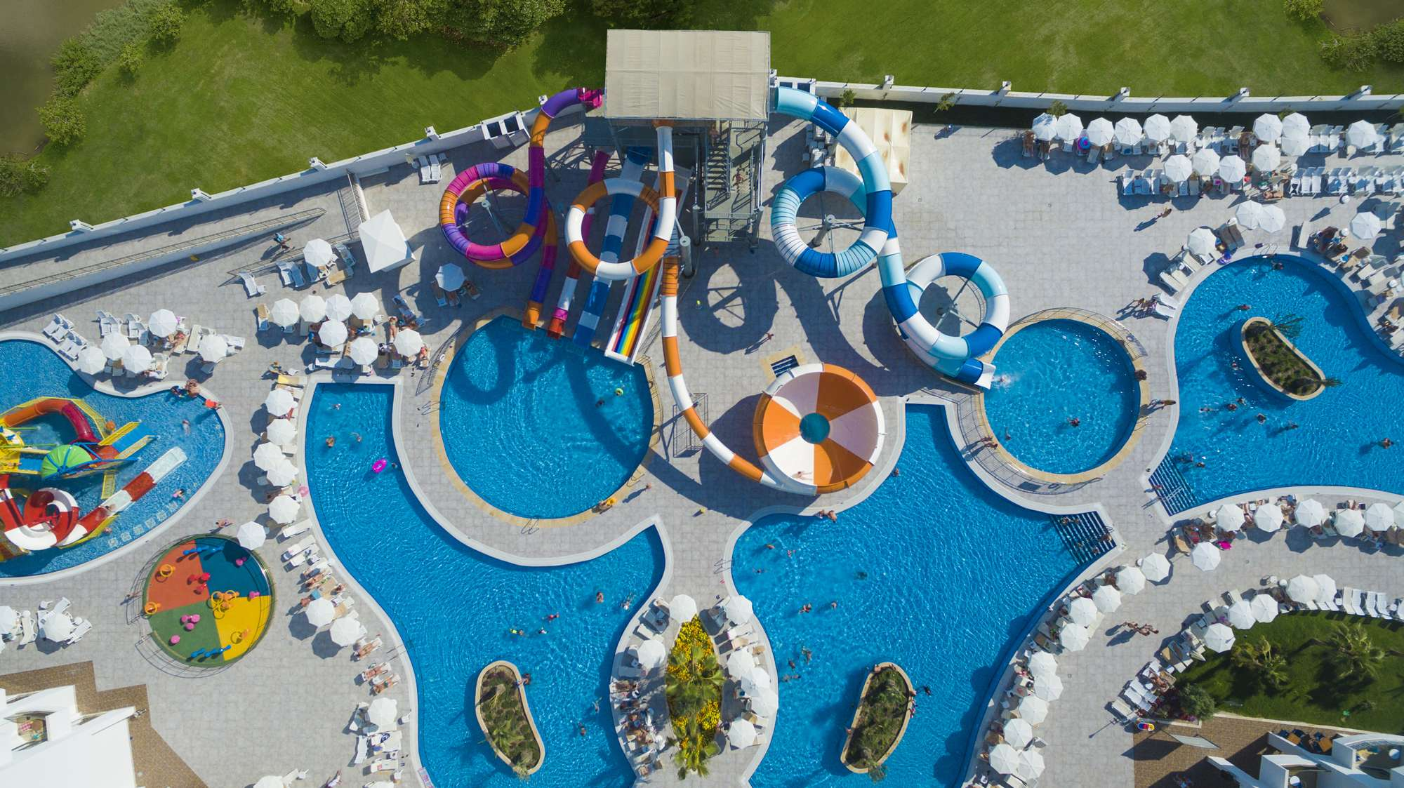 Фото нового отеля Calido Maris Beach Resort 5* Турция, бассейн