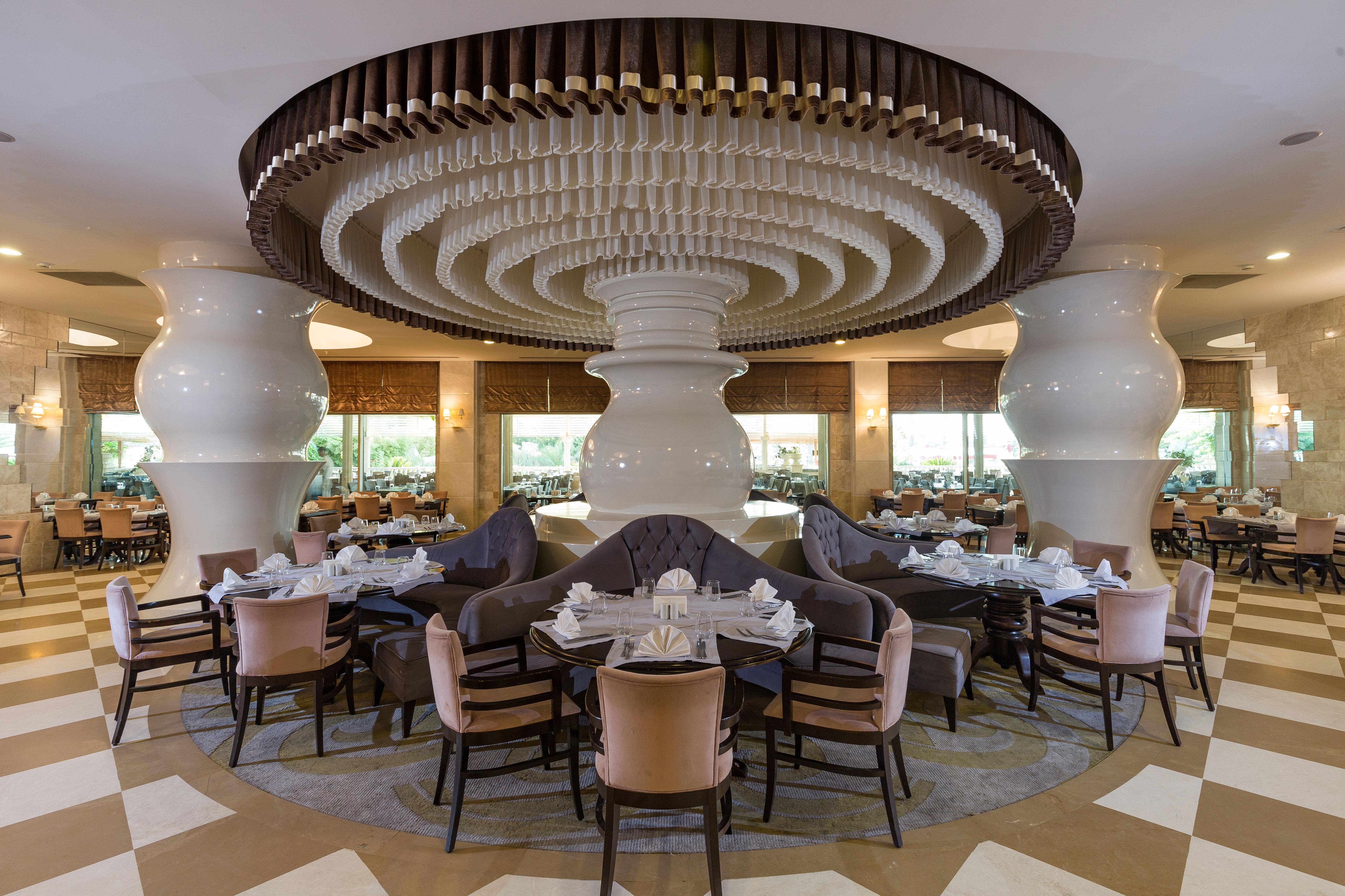 Фото нового отеля Vogue Hotel Bodrum 5*, Бодрум, Турция, рестораны и кухня