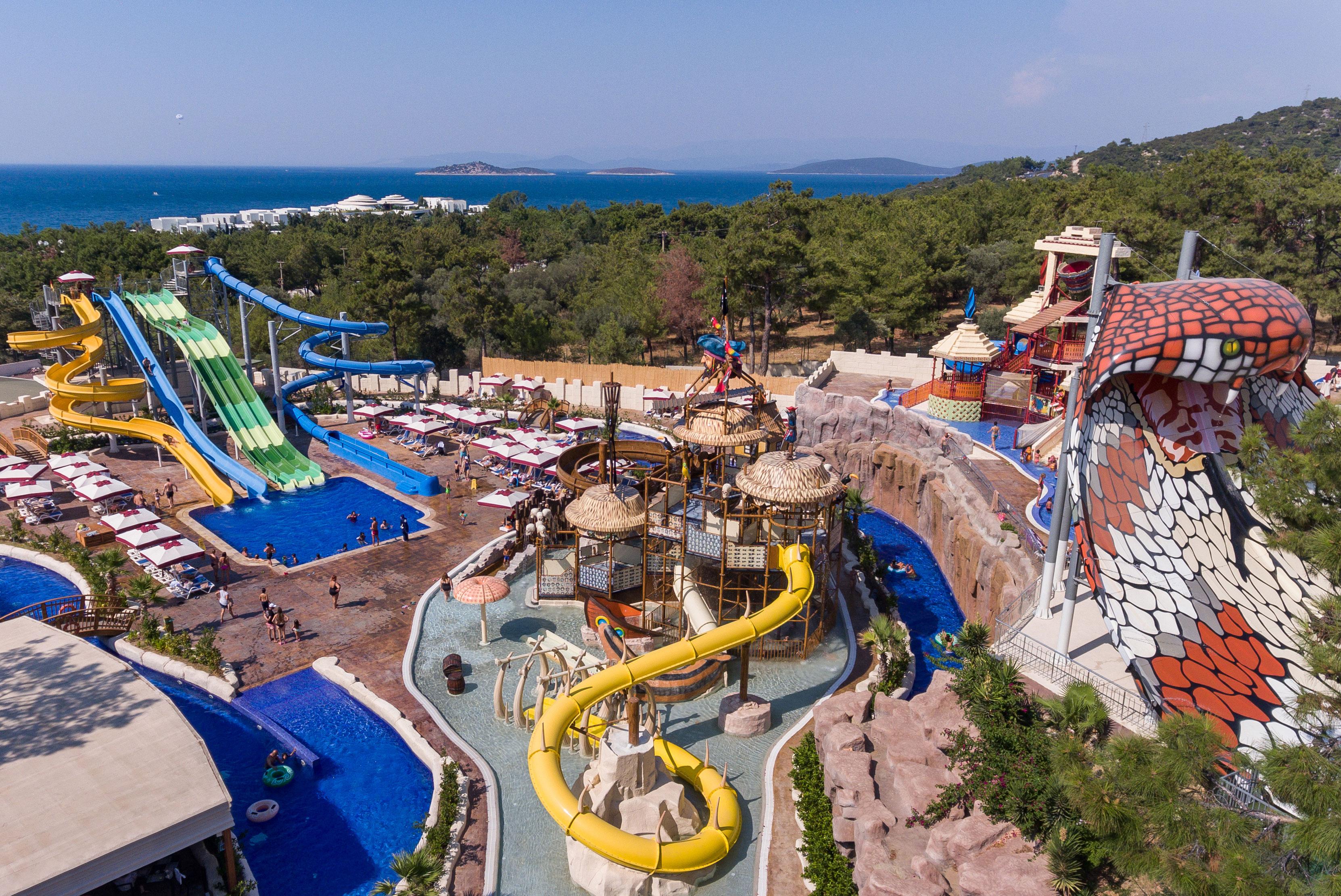 Фото нового отеля Vogue Hotel Bodrum 5*, Бодрум, Турция, развлечения, аквапарк