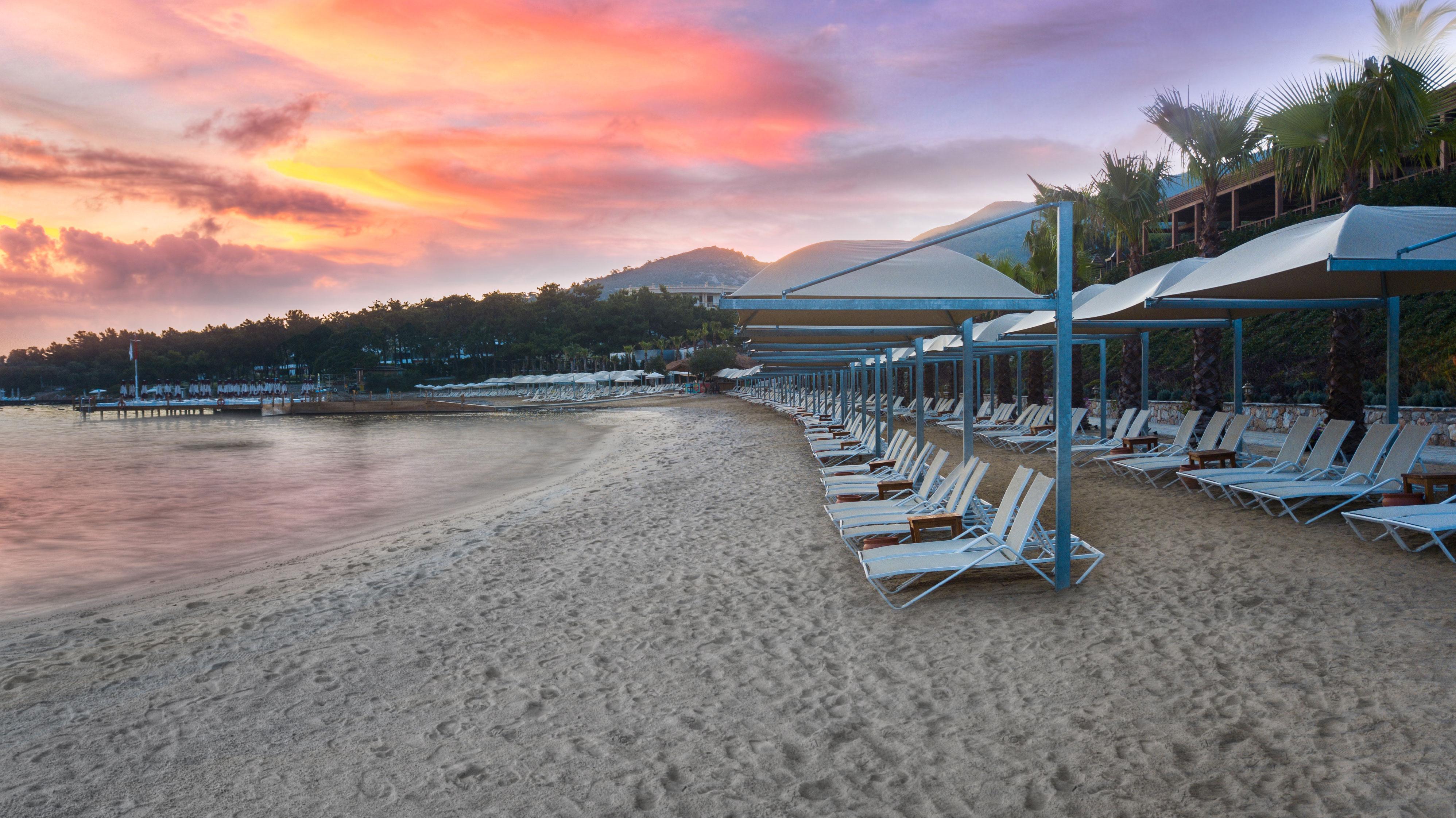 Фото нового отеля Vogue Hotel Bodrum 5*, Бодрум, Турция, море и пляж