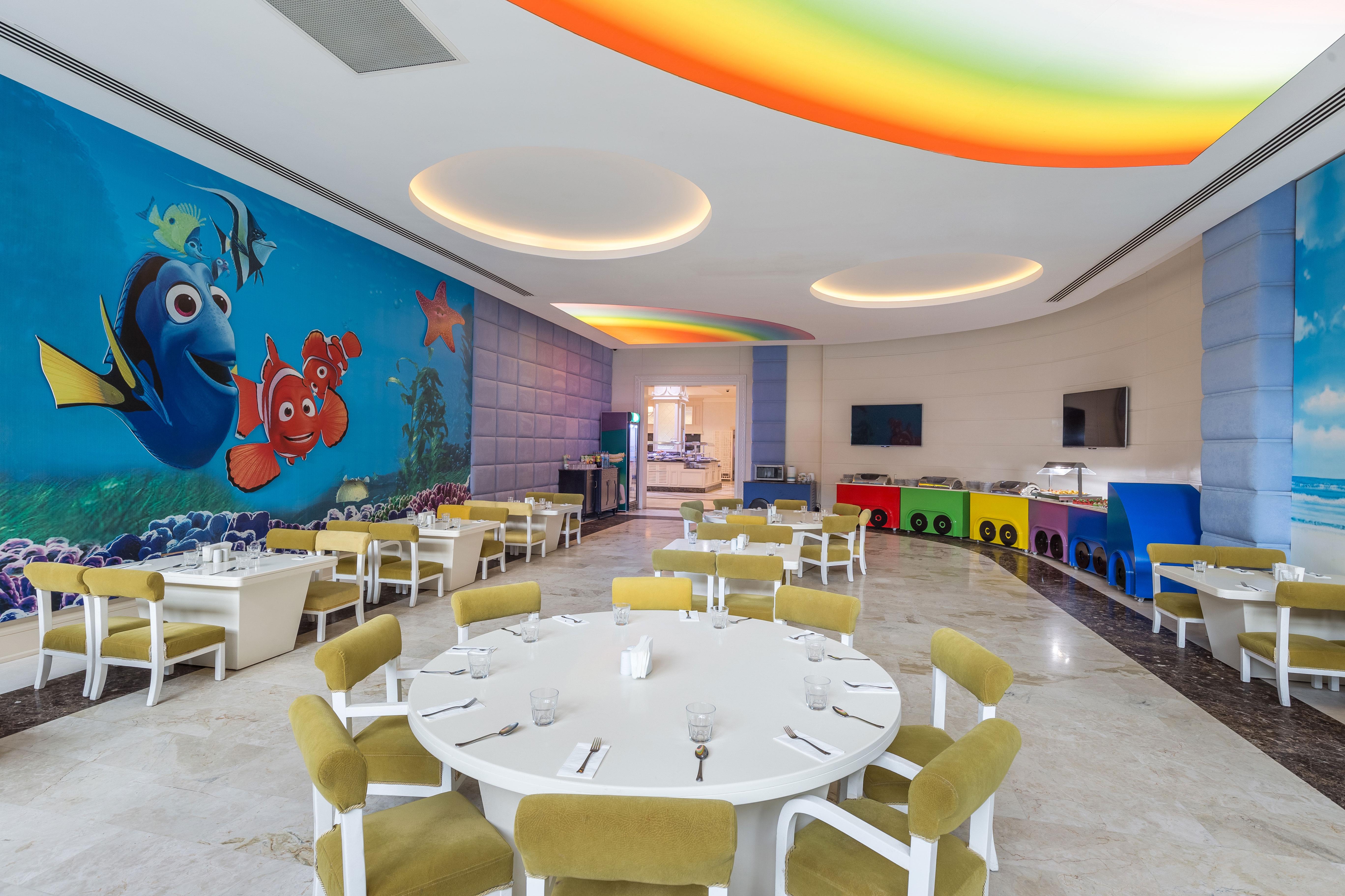 Фото нового отеля Vogue Hotel Bodrum 5*, Бодрум, Турция, детский зал кухня
