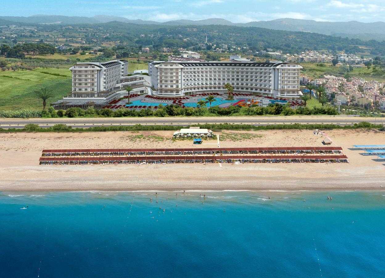 Фото нового отеля в Турции Calido Maris Beach Resort 5* , море и пляж