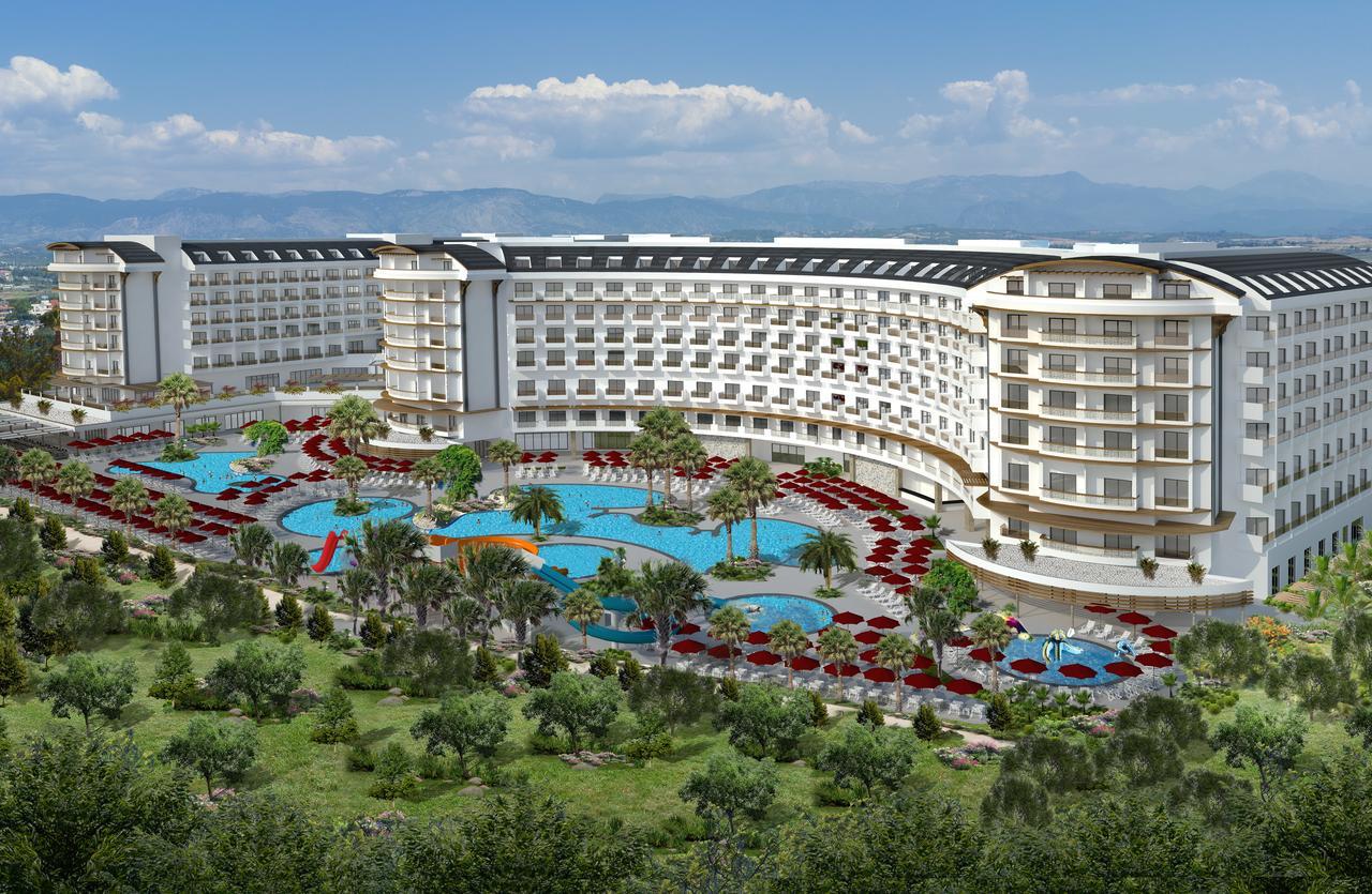Фото нового отеля в Турции Calido Maris Beach Resort 5* ,расположение