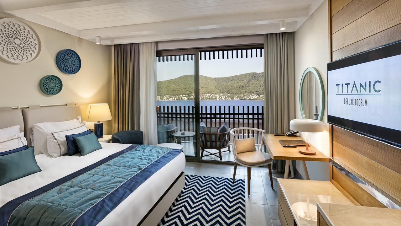 Фото нового отеля Турции Titanic Deluxe Bodrum 5* , номера