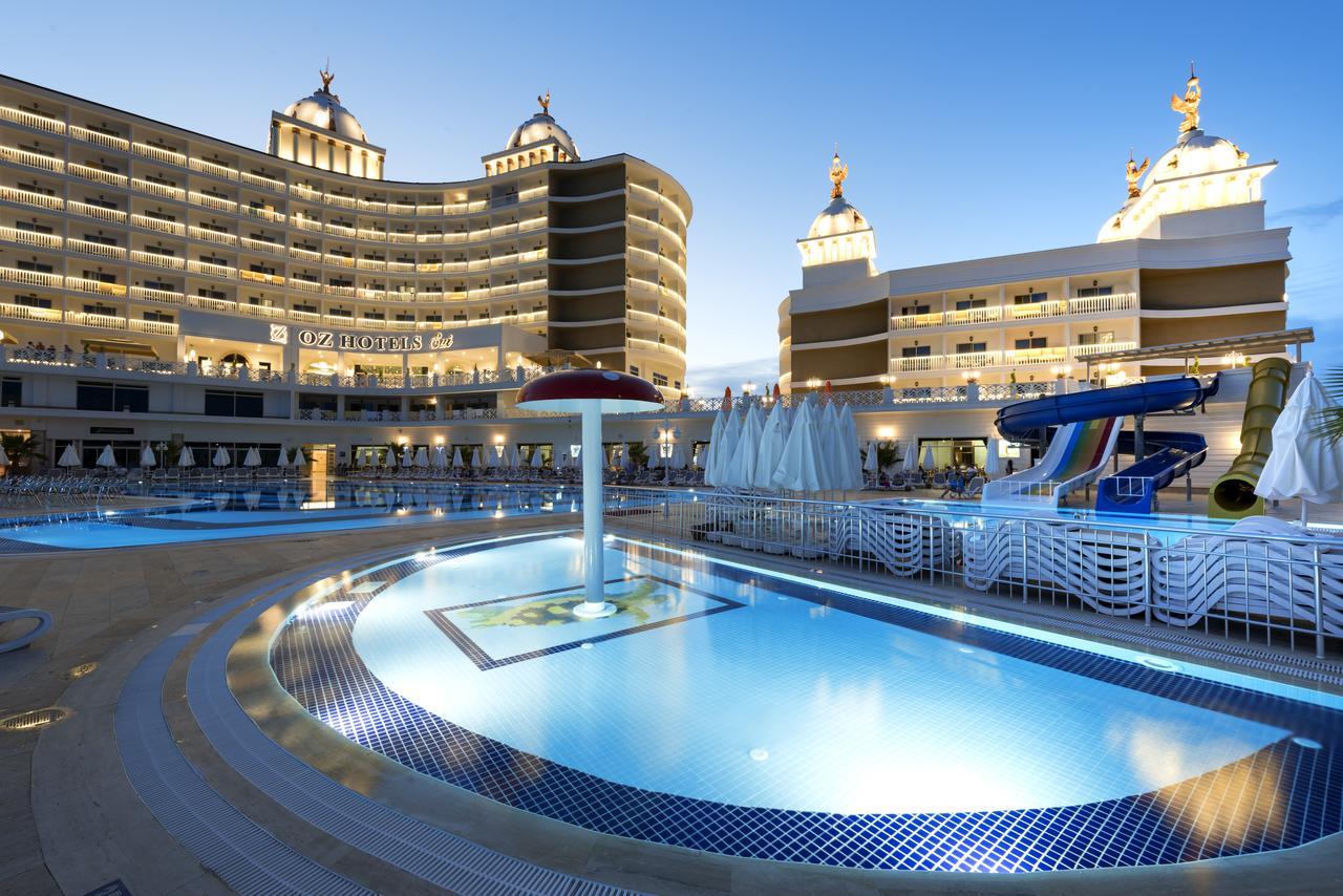 Фото нового отеля в Алании Oz Hotels Sui Resort 5* , Турция бассейн