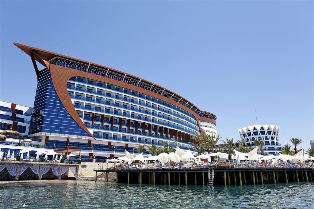 Фото нового отеля Турции Granada Palace Resort Spa 5* море и пляж