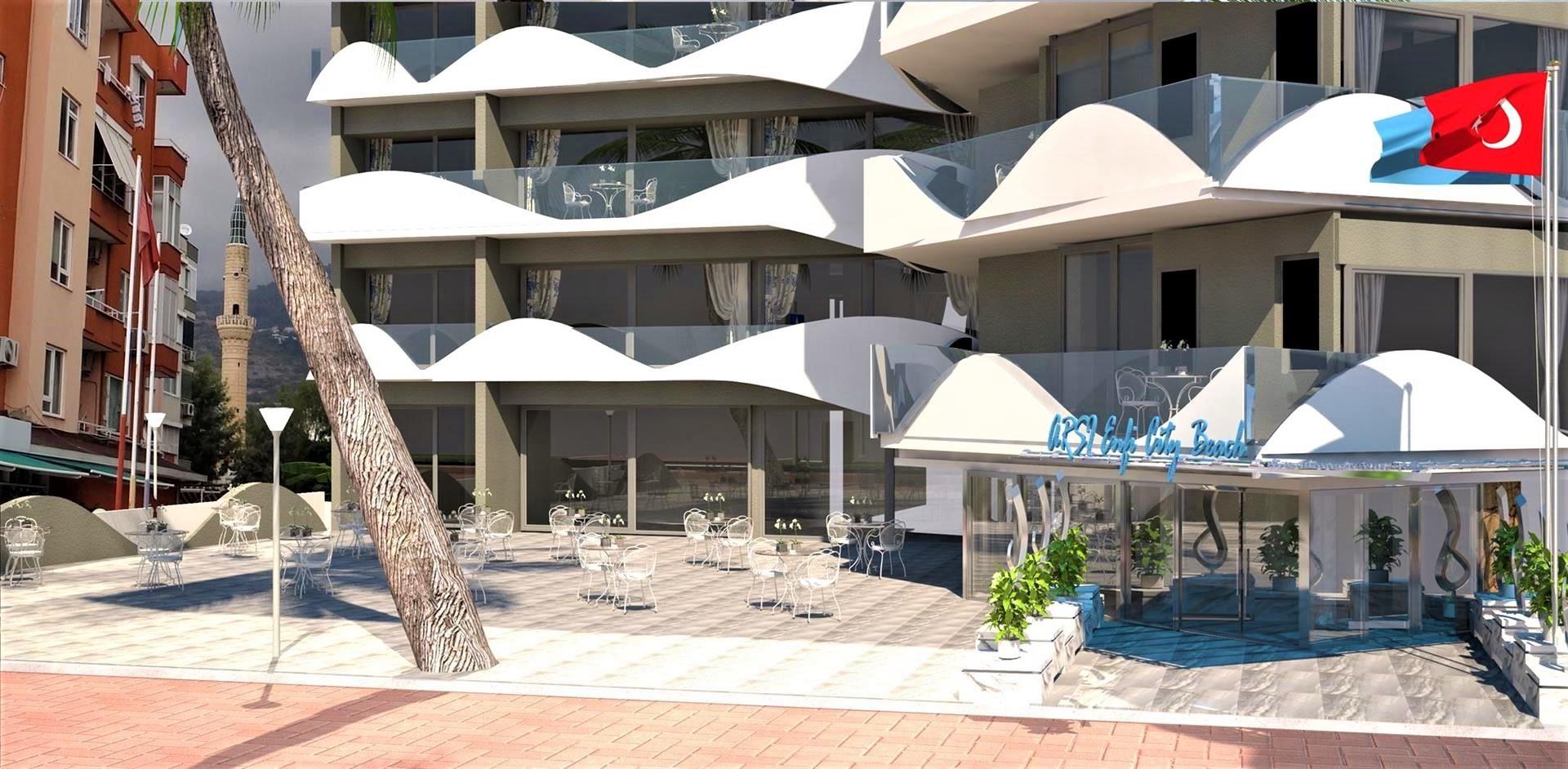 Фото нового отеля Алании Arsi Enfi City Beach Hotel 4*