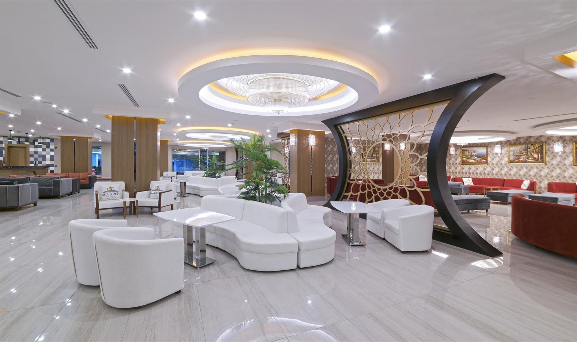 Фото нового отеля в Турции Asia Beach Resort & Spa Hotel 5* Алания, дизайн