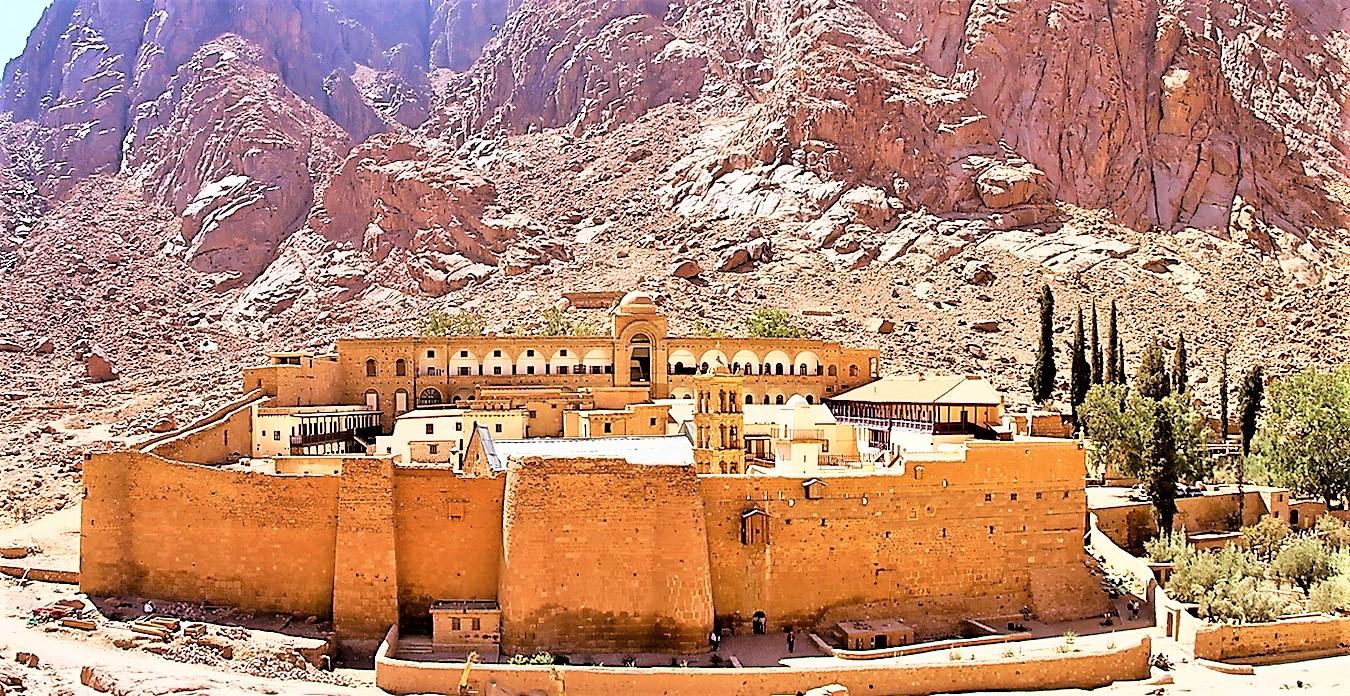 Туры в Египет монастырь Святой Екатерины фото